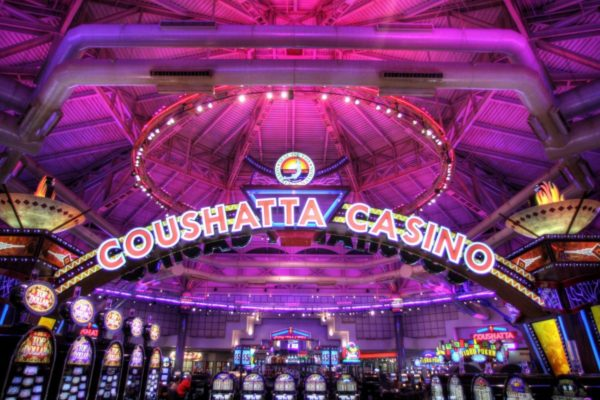 Review of the Grand Casino Coushatta in Kinder, LA.